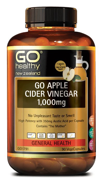 GO Healthy Apple Cider Vinegar 1000mg 90s